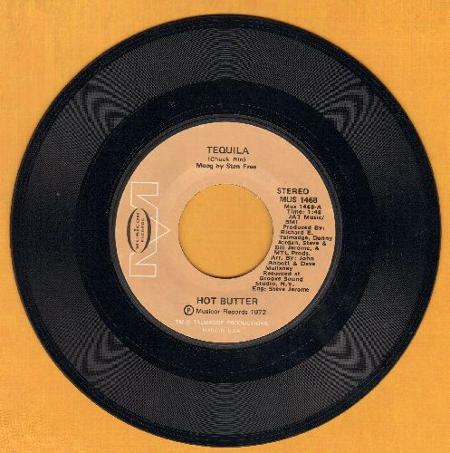 Hot Butter - Tequila/Hot Butter - NM9/ - 45 rpm Records