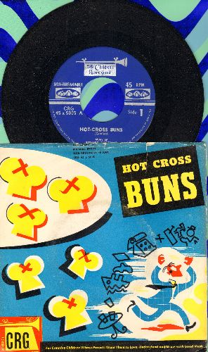 Wagenaar, Bernard - Hot-Cross Buns (Canadian Pressing with picture sleeve) - NM9/VG7 - 45 rpm Records