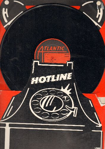Geils, J. Band - Hotline: Love-itis, Easy Way Out, Fancy Footwork, Mean Love, Think It Over (vinyl STEREO LP record, unique cover design)) - EX8/VG7 - LP Records