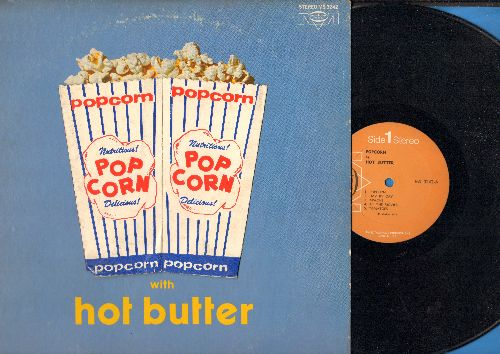 Hot Butter - Popcorn with Hot Butter: Apache, Telstar, Pipeline, Tomatoes, Amazing Grace (vinyl STEREO LP record) - NM9/VG7 - LP Records