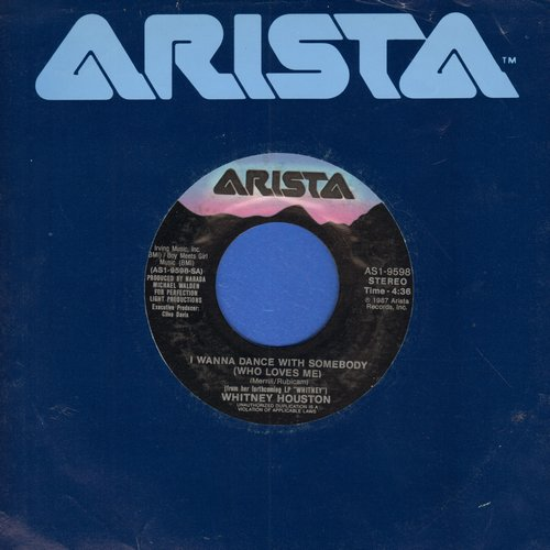 Houston, Whitney - I Wanna Dance With Somebody/Moment Of Truth - VG7/ - 45 rpm Records