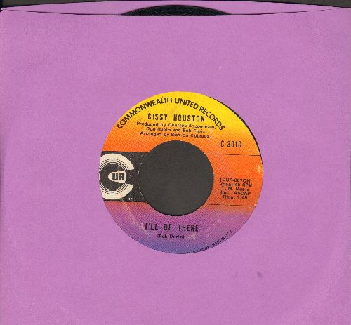Houston, Cissy - I'll Be There/He-I Believe - EX8/ - 45 rpm Records
