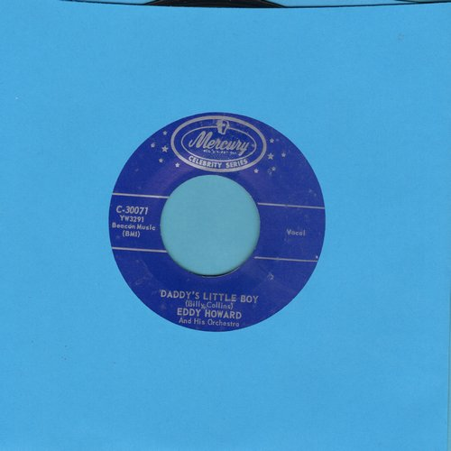 Howard, Eddy & His Orchestra - Daddy's Little Girl/Daddy's Little Boy (re-issue) - NM9/ - 45 rpm Records