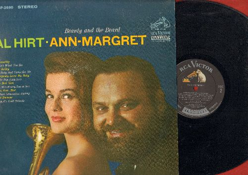 Hirt, Al & Ann-Margret - Beauty And The Beard: Personality, 'Tain't What You Do, Bill Bailey, Everybody Loves My Baby, Ma (He's Making Eyes At Me), Mutual Admiration Society, Baby It's Cold Outside (Vinyl STEREO LP record) - NM9/NM9 - LP Records