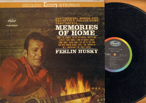 Husky, Ferlin - Memories Of Home: When I've Learned, The Family Bible, Where Could I Go But To The Lord, The Lord's Prayer (vinyl STEREO LP record) - NM9/NM9 - LP Records