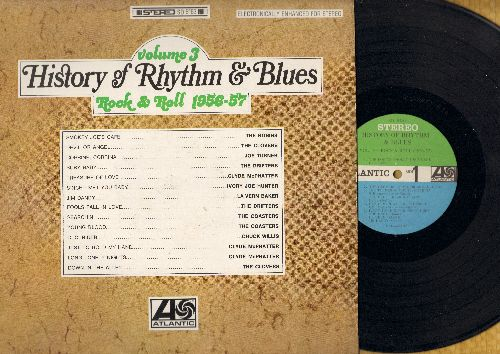 Robins, Clovers, LaVern Baker, Coasters, others - History Of Rhythm & Blues Vol 3 - Rock & Roll 1956-57: Devil Or Angel, Jim Dandy, Treasure Of Love, Corinne Corrina (Vinyl STEREO LP record) - M10/NM9 - LP Records