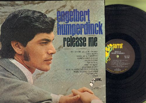 Humperdinck, Engelbert - Release Me: There's A Kind Of Hush, This Is My Song, There Goes My Everything, Il Mondo (Vinyl STEREO LP record) - NM9/NM9 - 45 rpm Records