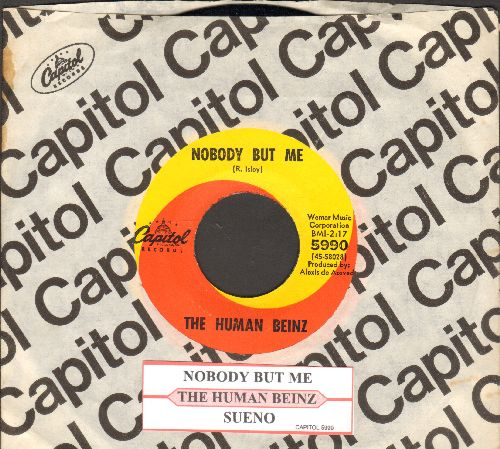 Human Beinz - Nobody But Me/Sueno (with juke box label and Capitol company sleeve) - NM9/ - 45 rpm Records