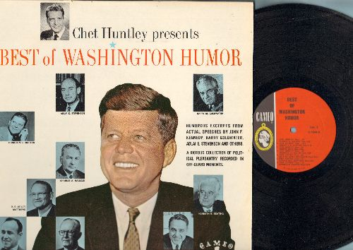 Huntley, Chet - Chet Huntley Presents Best of Washington Humor - Humorous Excerpts from JFK, Barry Goldwater, Adlai Stevenson, others (vinyl MONO LP record) - NM9/NM9 - LP Records