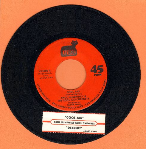Humphrey, Paul & His Cool Aid Chemists - Cool Aird/Detroit (with juke box label) - EX8/ - 45 rpm Records