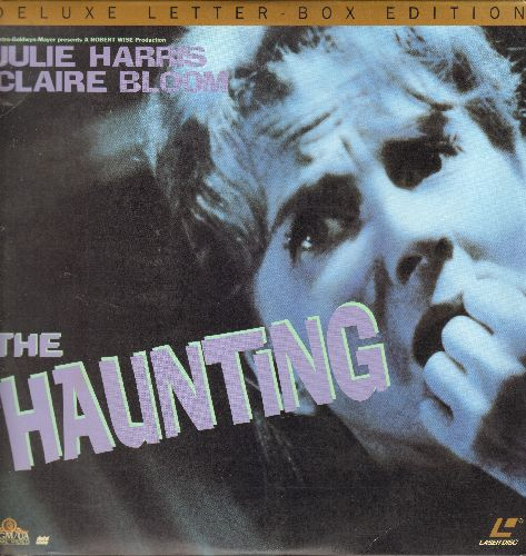 The Haunting - The Haunting - LASERDISC version of the Horror Classic starring Julie Harris and Claire Bloom. - NM9/VG7 - LaserDiscs
