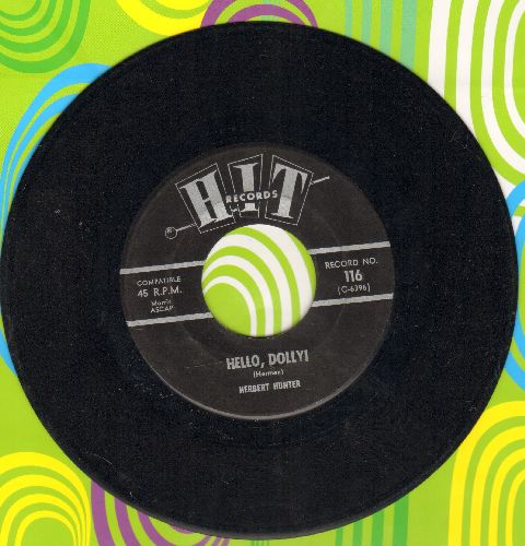 Hunter, Herbert - Hello, Dolly!/Shangri-La (by The Nashville Five on flipside) (contemporary cover versions) - EX8/ - 45 rpm Records