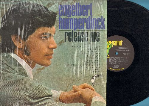 Humperdinck, Engelbert - Release Me: There's A Kind Of Hush, This Is My Song, There Goes My Everything, Il Mondo (Vinyl STEREO LP record, shrink wrap) - NM9/EX8 - 45 rpm Records