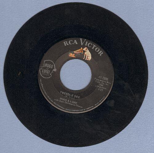 Hugo & Luigi - Tweedle Dee/Smile  - EX8/ - 45 rpm Records