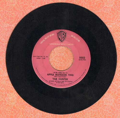 Hunter, Tab - Apple Blossom Time/My Only Love - VG7/ - 45 rpm Records