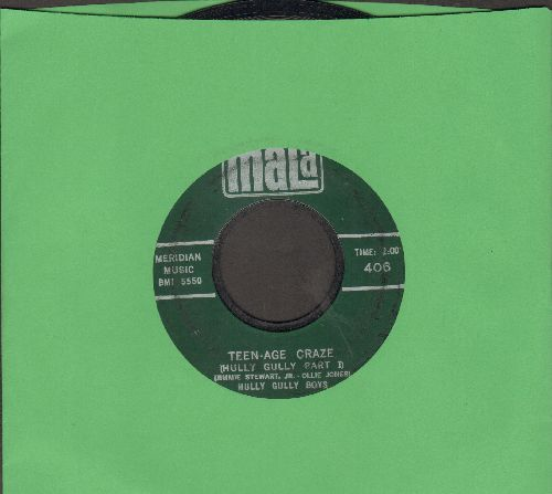 Hully Gully Boys - Teen-Age Craze (Hully Gully Parts 1 + 2) - EX8/ - 45 rpm Records