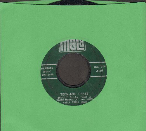 Hully Gully Boys - Teen-Age Craze (Hully Gully Parts 1 + 2) - EX8/ - 45 rpm Records