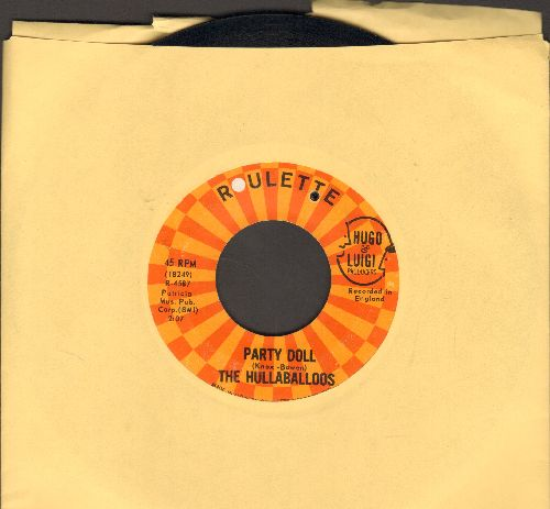 Hullaballoos - Party Doll/I'm Gonna Love You Too (bb) - EX8/ - 45 rpm Records