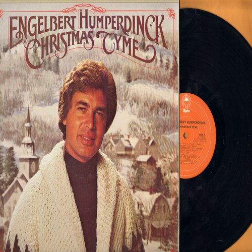 Humperdinck, Engelbert - Christmas Tyme: Silent Night, White Christmas, Silver Bells, Christmas Song (Vinyl STEREO LP record) - NM9/EX8 - LP Records
