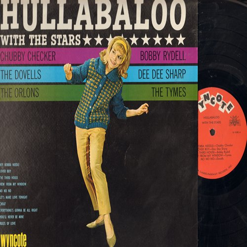 Checker, Chubby, Orlons, Dovells, Dee Dee Sharp, Bobby Rydell, Tymes - Hullabaloo With The Stars: Lover Boy, No No No, Rules Of Love, You'll Never Be Mine, The Third House, View From My Window, Cheat (Vinyl STEREO LP record, NICE record!) - VG7/VG7 - LP R