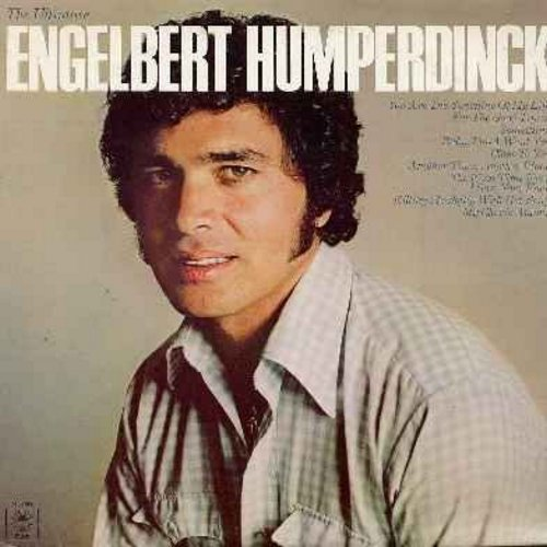 Humperdinck, Engelbert - The Ultimate Engelbert Humperdinck: Something, Close To You, Killing Me Softly With Her Song, My Cherie Amour, The First Time Ever I Saw Your Face, You Are The Sunshine Of My Life (Vinyl LP record) - M10/EX8 - LP Records