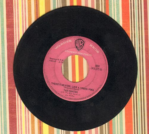 Hunter, Tab - There's No Fool Like A Young Fool/I'll Never Smile Again (with Warner Brothers company sleeve) - VG7/ - 45 rpm Records