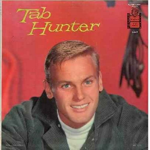 Hunter, Tab - Tab Hunter: My Baby Just Cares For Me, I'll Never Be Free, Candy, I Ain't Got Nobody, Funny, But Beautiful (Vinyl MONO LP record, gray label first isue) - EX8/EX8 - LP Records