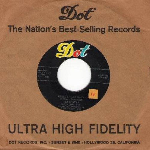 Hunter, Tab - Ninety-Nine Ways/Don't Get Around Much Anymore (with vintage Dot company sleeve) - NM9/ - 45 rpm Records