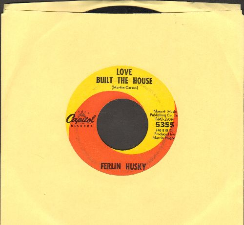 Husky, Ferlin - Love Built The House/True True Lovin' - EX8/ - 45 rpm Records