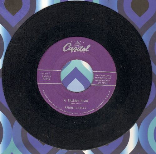 Husky, Ferlin - A Fallen Star/Prize Possession - VG7/ - 45 rpm Records