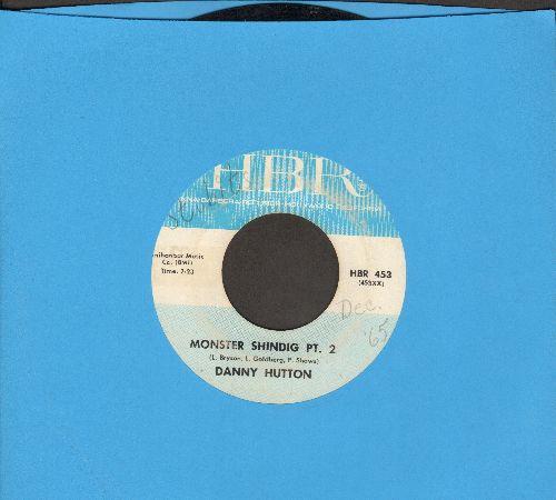 Hutton, Danny - Monster Shindig Pt. 2/Big Bright Eyes (wol) - VG7/ - 45 rpm Records