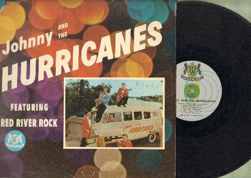 Johnny & The Hurricanes - Johnny & The Hurricanes: Red River Rock, Happy Time, Buckeye, Cut Out, Lazy, Walkin', Crossfire, Storm Warning, Bam-Boo, Thunderbolt, Joy Ride, Rock-Cha (Vinyl MONO LP record, RARE first issue) - VG7/G5 - LP Records