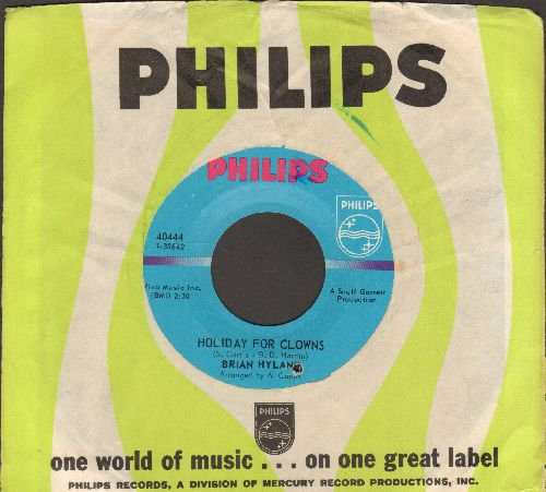 Hyland, Brian - Holiday For Clowns/Yesterday I Had A Girl (with Philips company sleeve) (bb) - EX8/ - 45 rpm Records