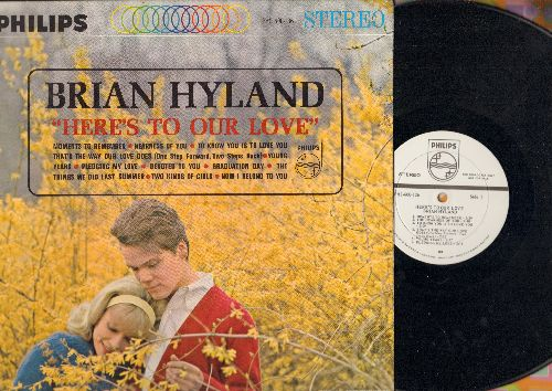 Hyland, Brian - Here's To Our Love: Moments To Remember, Devoted To You, Graduation Day, Pledging My Love, Two Kinds Of Girls (Vinyl STEREO LP record, DJ advance pressing) - EX8/NM9 - LP Records