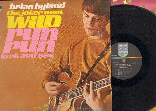 Hyland, Brian - The Joker Went Wild: Run Run Look And See, Norwegian Wood, Lavender Blue, Just Out Of Reach (Vinyl MONO LP record) (wol) - EX8/EX8 - LP Records