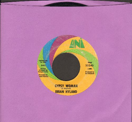 Hyland, Brian - Gypsy Woman/You And Me #2 (bb) - VG7/ - 45 rpm Records