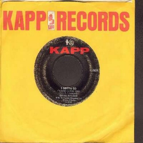 Hyland, Brian - I Gotta Go ('Cause I Love You So)/Lop-Sided Over-Loaded (And It Wiggled When We Rode It) (with vintage Kapp company sleeve) - VG6/ - 45 rpm Records