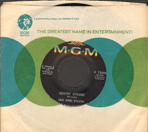Ian & Sylvia - Lovin' Sound/Pilgrimmage To Paradise (with MGM company sleeve) - NM9/ - 45 rpm Records