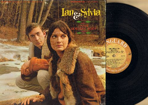 Ian & Sylvia - Early Morning Rain: Come In Stranger, Traveling Drummer, Red Velvet, Song For Canada (Vinyl STEREO LP record) - NM9/VG7 - LP Records