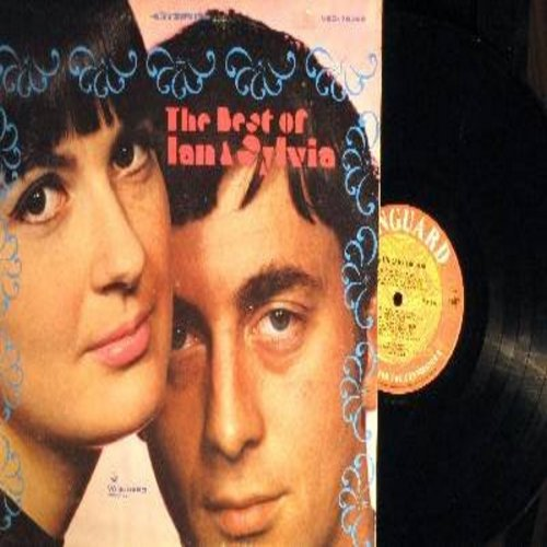 Ian & Sylvia - The Best Of Ian & Sylvia: You Were On My Mind, 24 Hours From Tulsa, Changes, C. C. Rider, Four Strong Winds (Vinyl STEREO LP record) - EX8/EX8 - LP Records