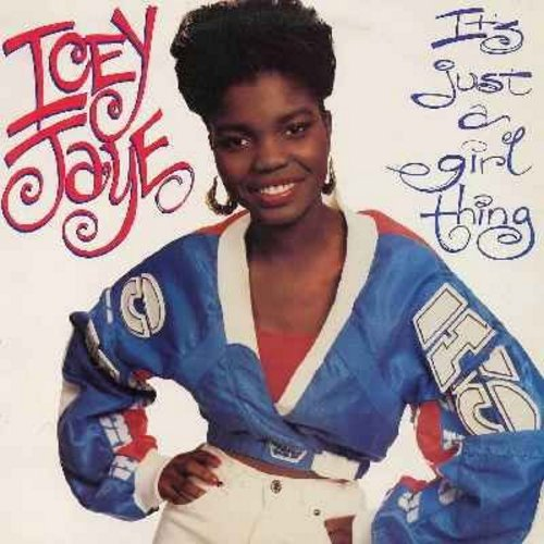Icey Jaye - It's Just A Girl Thing - 12 inch 33rpm vinyl Maxi Single with picture cover  featuring 6 different Extended Dance Tracks of the Hip-Hop/R&B Hit - NM9/NM9 - Maxi Singles