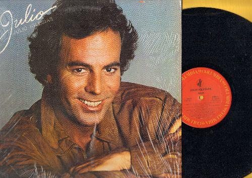 Iglesias, Julio - Julio: Amor (Spanish/English), Abracame (Portuguese), Wo Bist Du (German), No Si Vive Cosi (Italian), Nostalgie (French) (Vinyl STEREO LP record, NICE condition with shrink wrap) - NM9/NM9 - LP Records