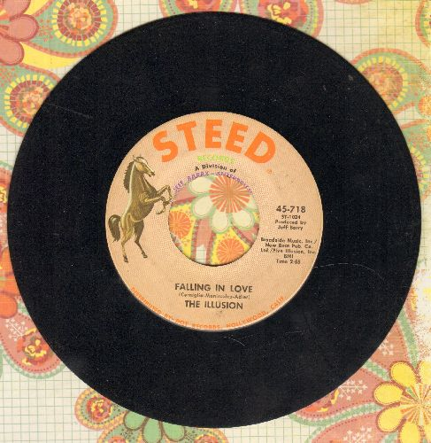 Illusion - Falling In Love/Did You See Her Eyes - VG7/ - 45 rpm Records
