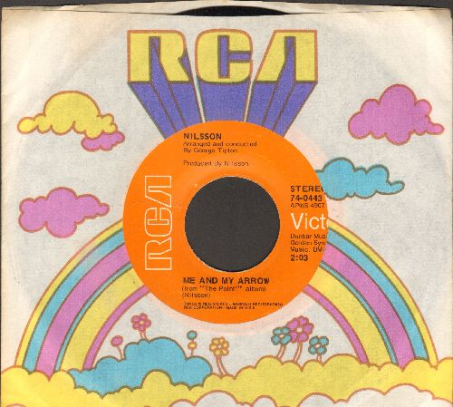 Nilsson - Me And My Arrow/Are You Sleeping? (with RCA company sleeve) - NM9/ - 45 rpm Records