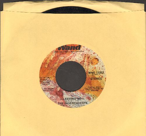 Independents - Leaving Me/I Love You, Yes I Do - NM9/ - 45 rpm Records