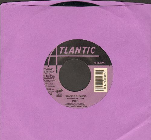 INXS - Suicide Blonde/Everybody Wants U Tonight - EX8/ - 45 rpm Records