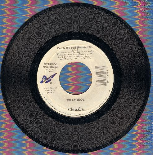 Idol, Billy - Catch My Fall/Hot In The City (double-hit re-issue) - M10/ - 45 rpm Records