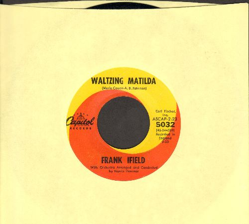 Ifield, Frank - Waltzing Matilda/I'm Confessin'  - EX8/ - 45 rpm Records