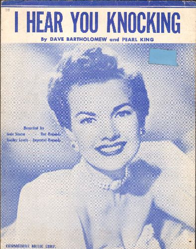 Storm, Gale - I Hear You Knocking - SHEET MUSIC for the song made popular by many artists, including Gale Storm (pictured) - VG7/ - Sheet Music