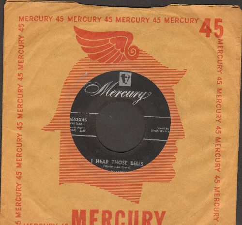 Washington, Dinah - I Hear Those Bells/The Cheat (with vintage Mercury company sleeve) - VG7/ - 45 rpm Records